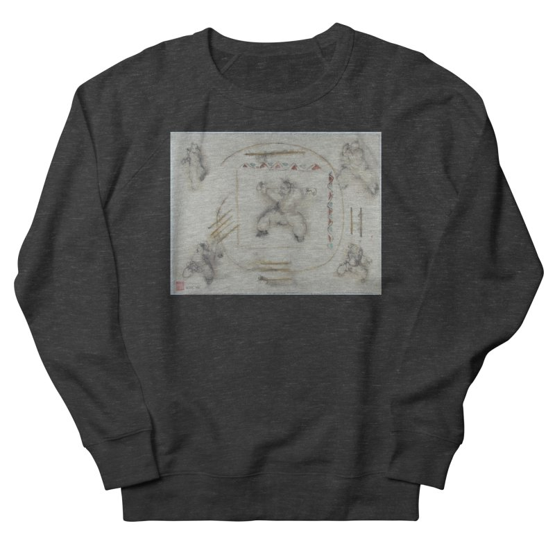 In Transition To Diagonal Posture Women's Sweatshirt by arttaichi's Artist Shop