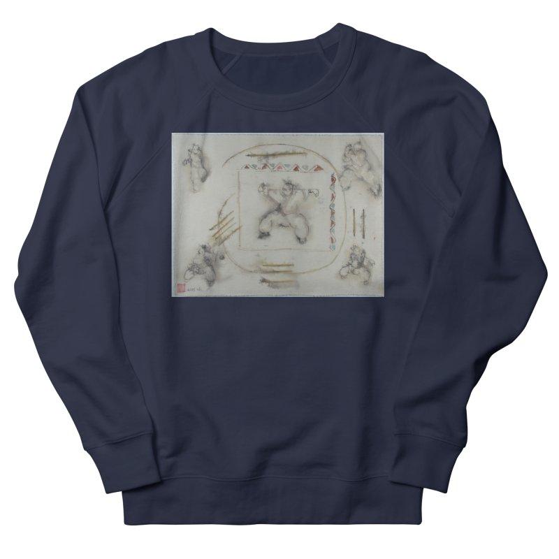 In Transition To Diagonal Posture Men's Sweatshirt by arttaichi's Artist Shop