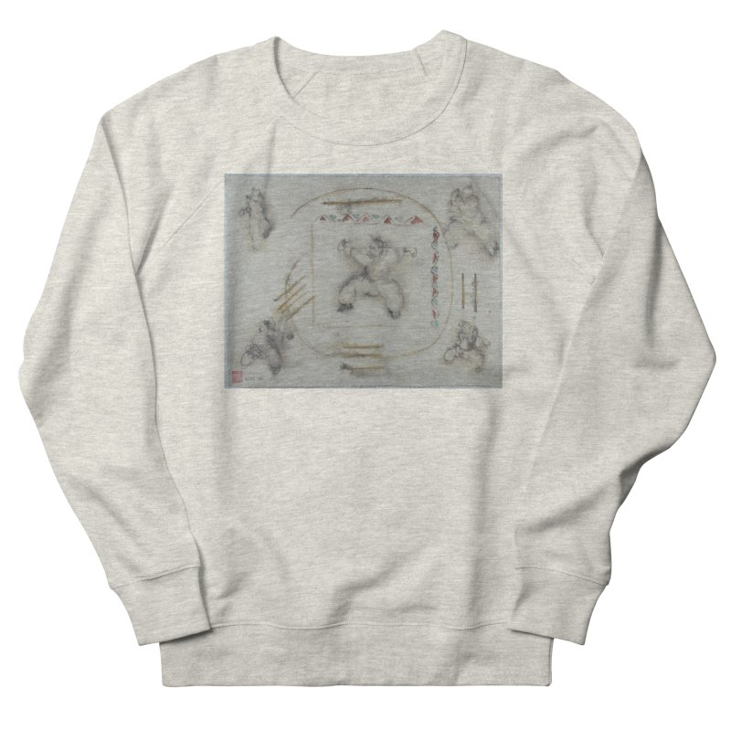In Transition To Diagonal Posture Men's Sweatshirt by arttaichi's Artist Shop