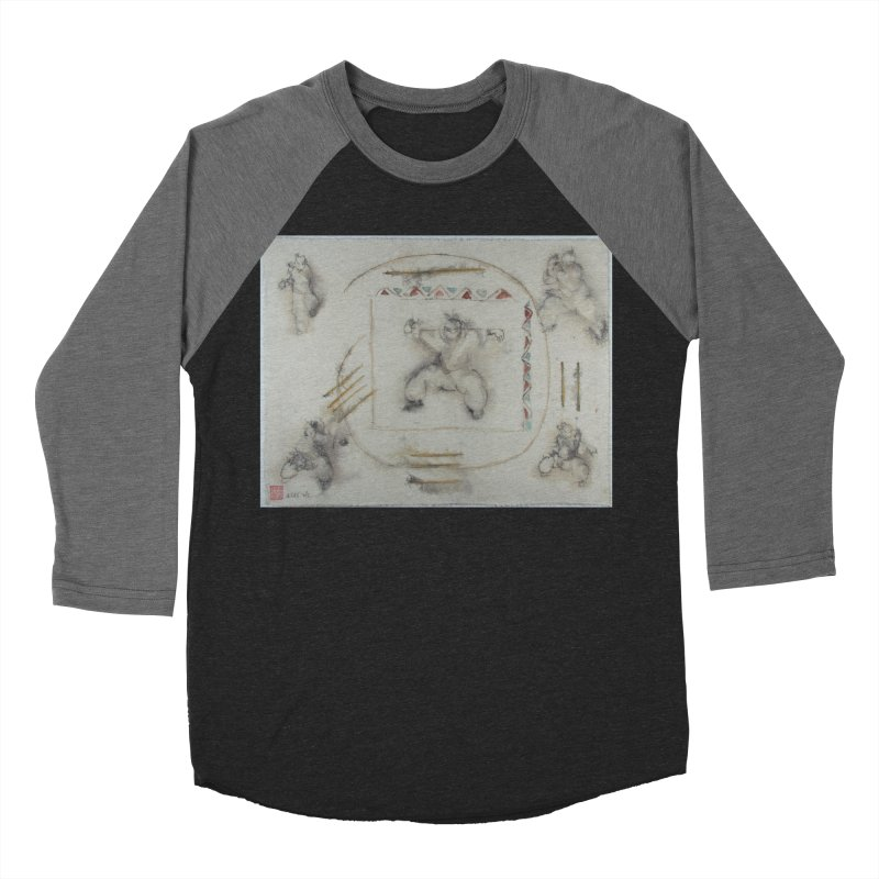 In Transition To Diagonal Posture Women's Baseball Triblend Longsleeve T-Shirt by arttaichi's Artist Shop