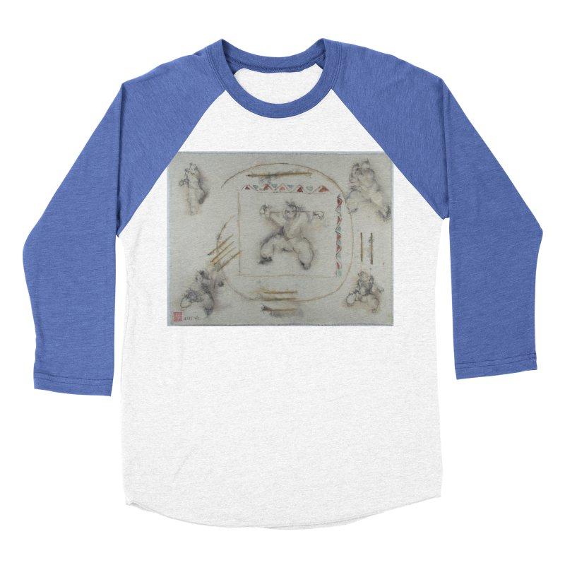 In Transition To Diagonal Posture Men's Baseball Triblend T-Shirt by arttaichi's Artist Shop