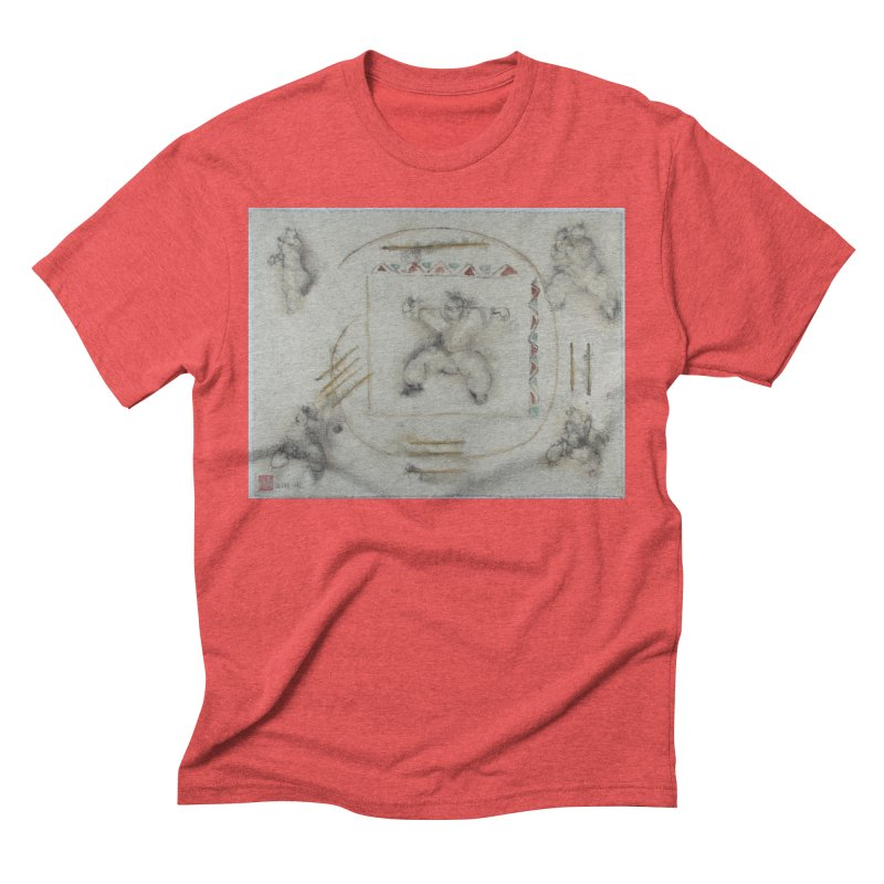 In Transition To Diagonal Posture Men's Triblend T-shirt by arttaichi's Artist Shop