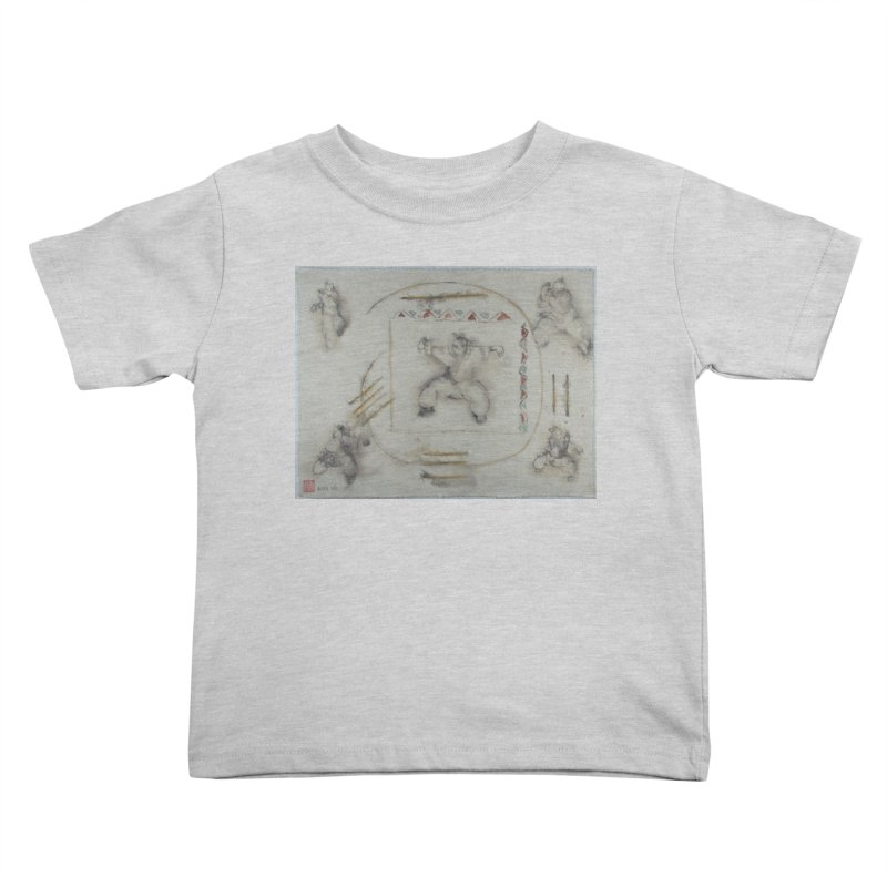 In Transition To Diagonal Posture Kids Toddler T-Shirt by arttaichi's Artist Shop