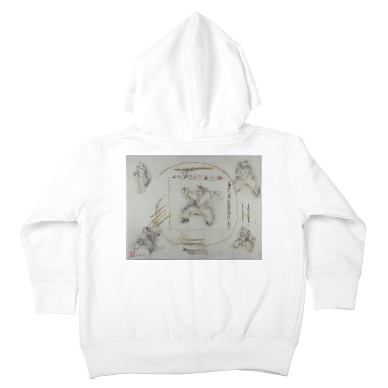 In Transition To Diagonal Posture Kids Toddler Zip-Up Hoody by arttaichi's Artist Shop