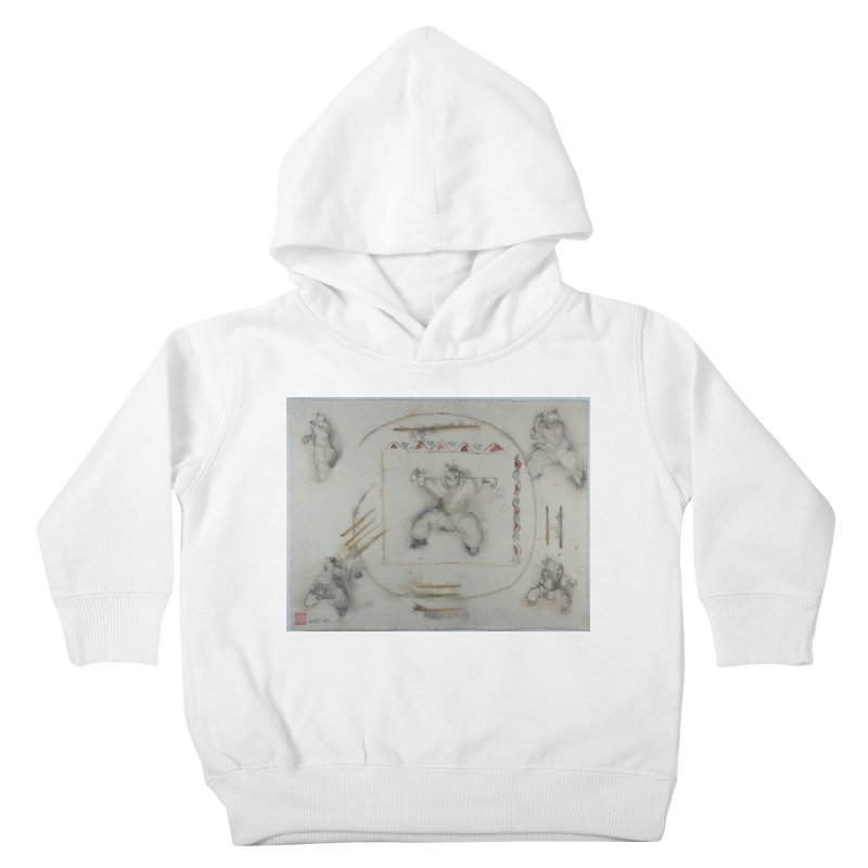 In Transition To Diagonal Posture Kids Toddler Pullover Hoody by arttaichi's Artist Shop