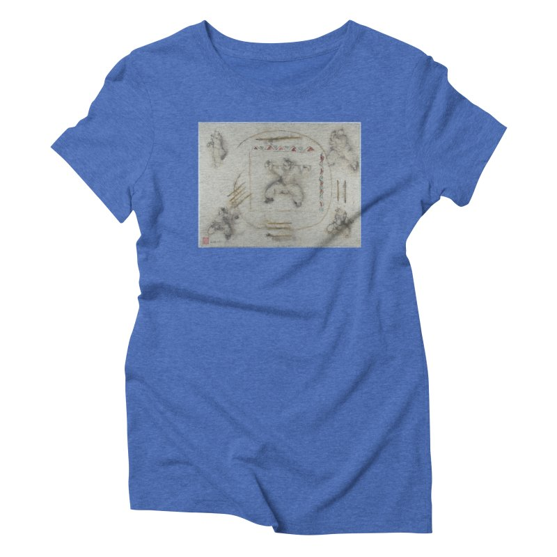 In Transition To Diagonal Posture Women's Triblend T-Shirt by arttaichi's Artist Shop