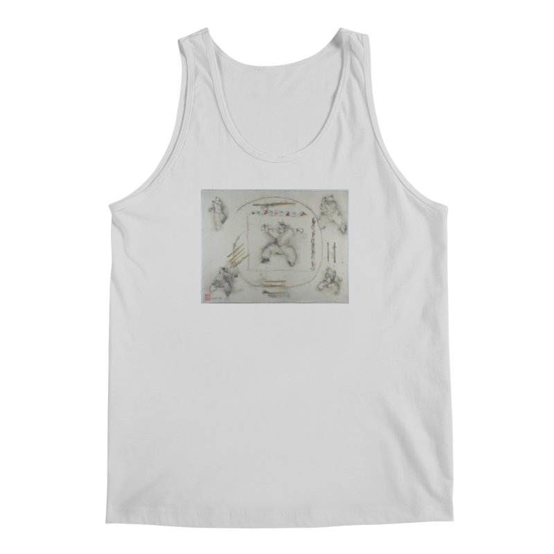 In Transition To Diagonal Posture Men's Regular Tank by arttaichi's Artist Shop