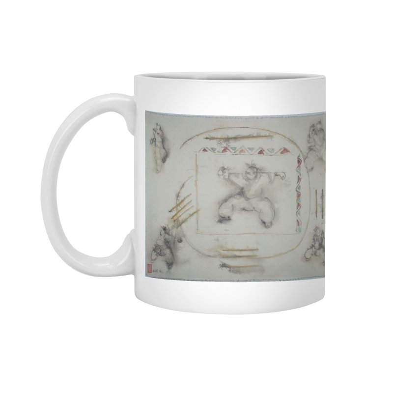 In Transition To Diagonal Posture Accessories Mug by arttaichi's Artist Shop