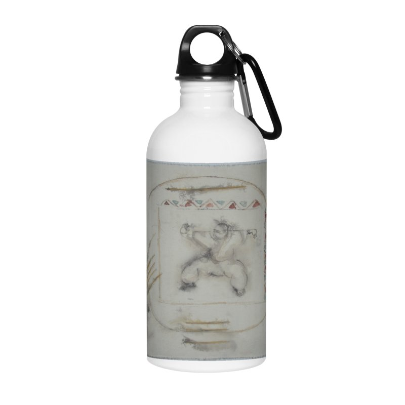 In Transition To Diagonal Posture Accessories Water Bottle by arttaichi's Artist Shop