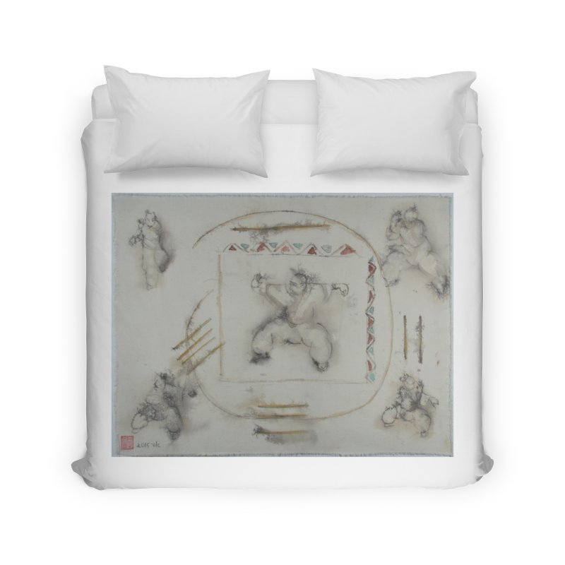 In Transition To Diagonal Posture Home Duvet by arttaichi's Artist Shop
