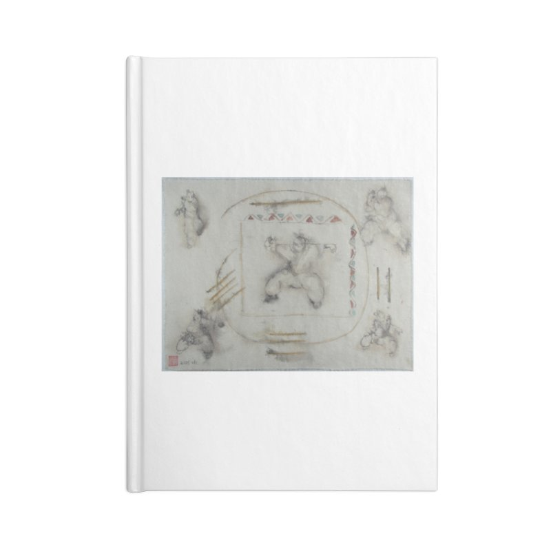 In Transition To Diagonal Posture Accessories Notebook by arttaichi's Artist Shop