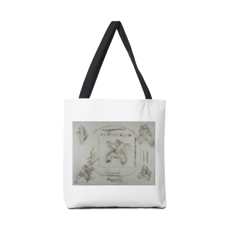 In Transition To Diagonal Posture Accessories Bag by arttaichi's Artist Shop