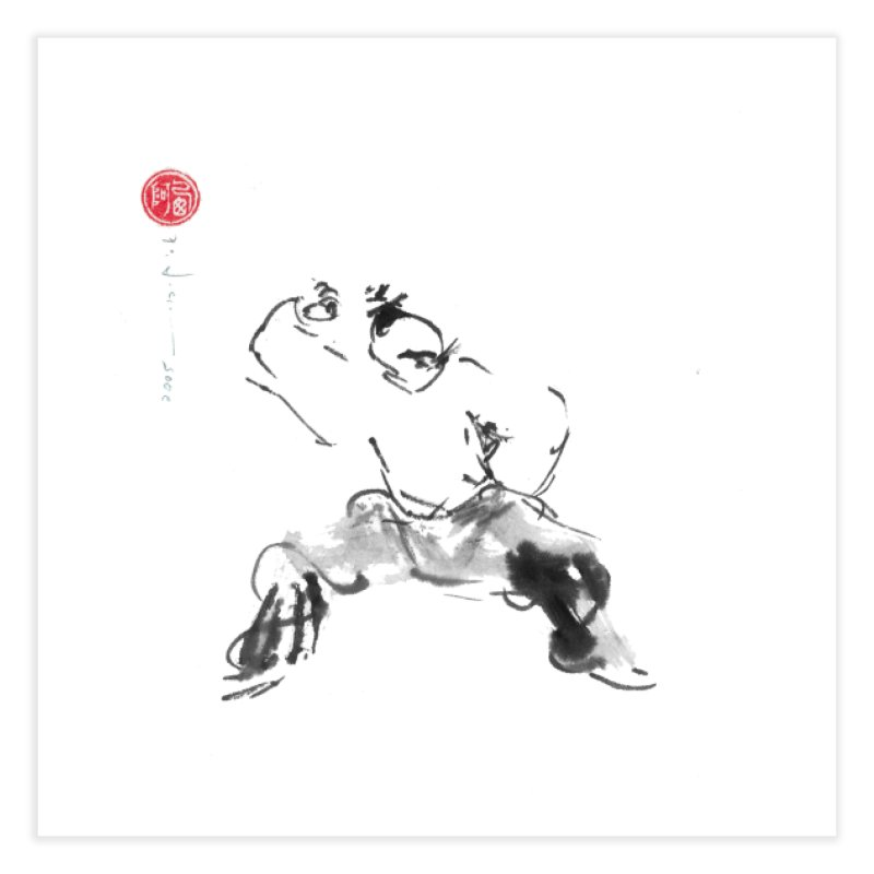 Fist Over Shoulder Home Fine Art Print by arttaichi's Artist Shop