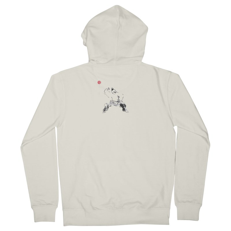 Fist Over Elbow Men's Zip-Up Hoody by arttaichi's Artist Shop