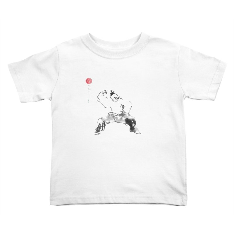 Fist Over Elbow Kids Toddler T-Shirt by arttaichi's Artist Shop