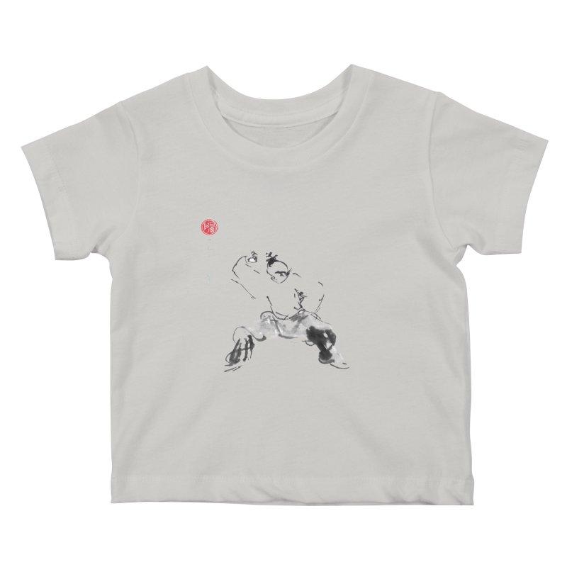 Fist Over Elbow Kids Baby T-Shirt by arttaichi's Artist Shop