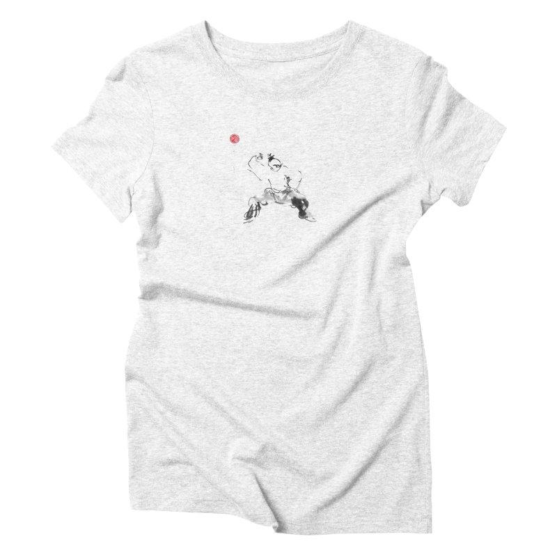 Fist Over Elbow Women's Triblend T-shirt by arttaichi's Artist Shop