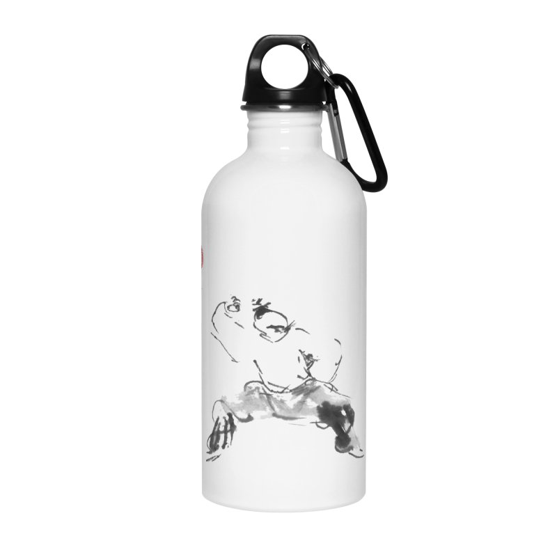 Fist Over Elbow Accessories Water Bottle by arttaichi's Artist Shop