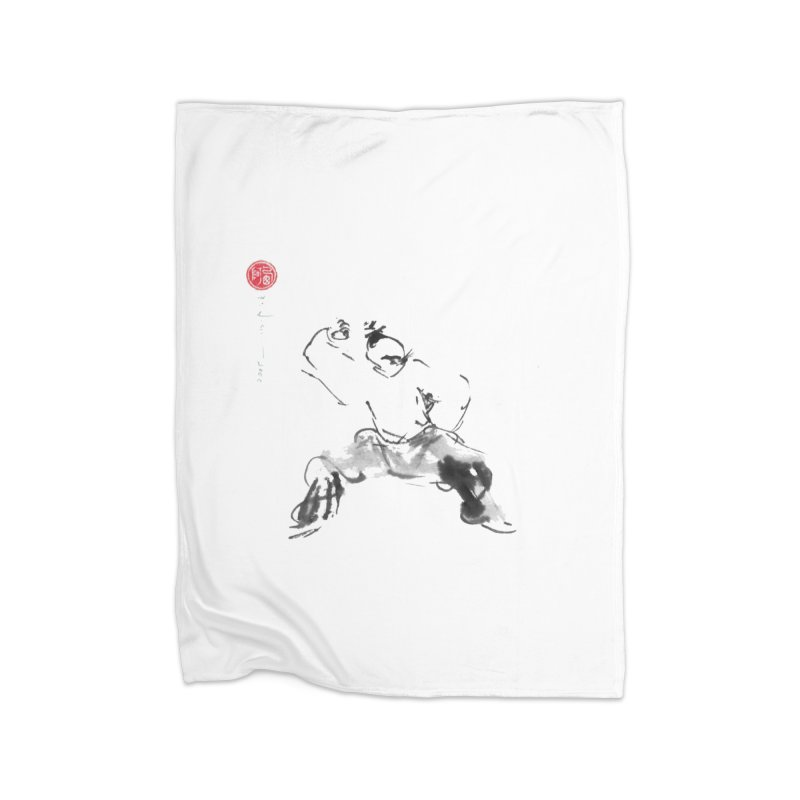 Fist Over Elbow Home Blanket by arttaichi's Artist Shop