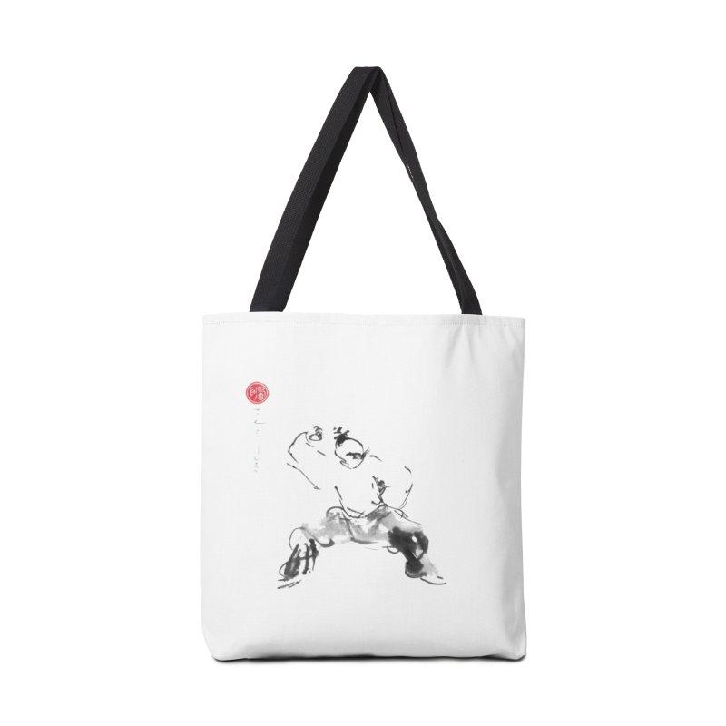 Fist Over Elbow Accessories Bag by arttaichi's Artist Shop