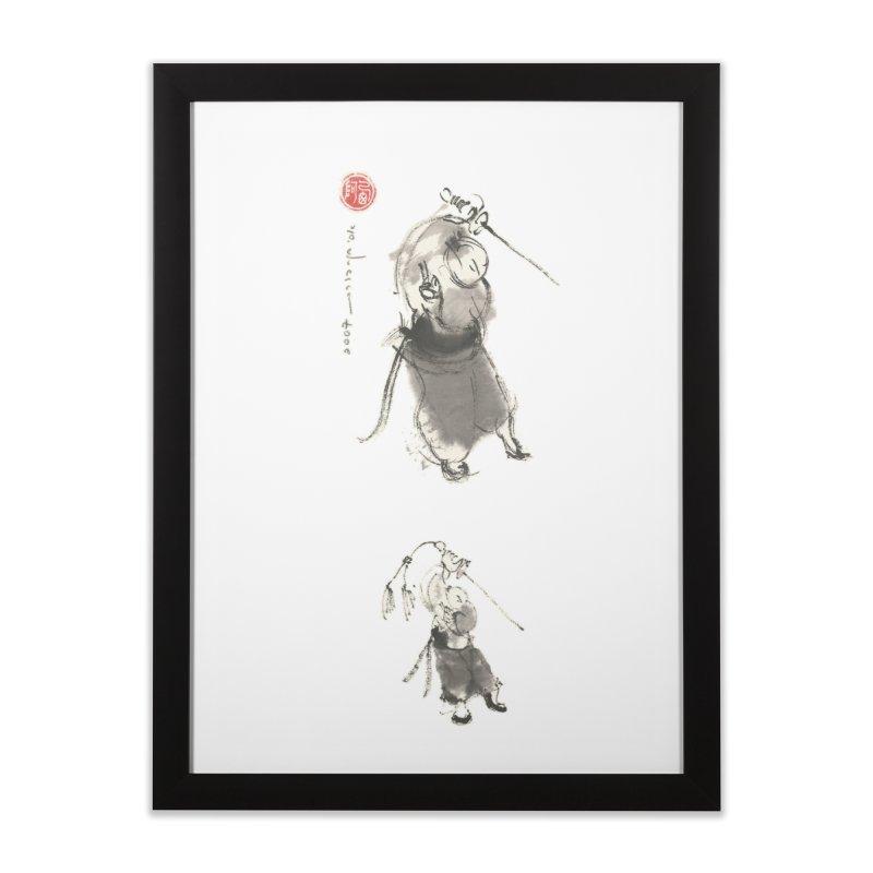 Ursa Minor Home Framed Fine Art Print by arttaichi's Artist Shop