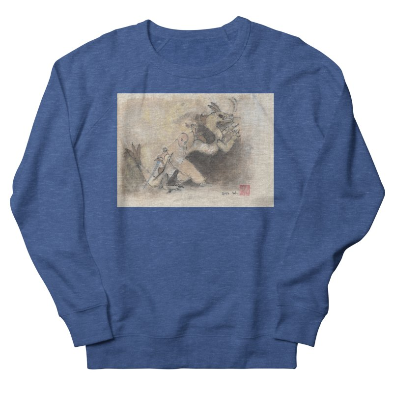 Black Dragon Wagging Tail Women's Sweatshirt by arttaichi's Artist Shop