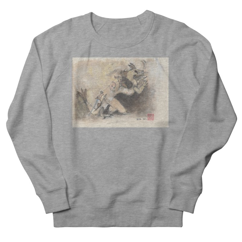 Black Dragon Wagging Tail Men's Sweatshirt by arttaichi's Artist Shop