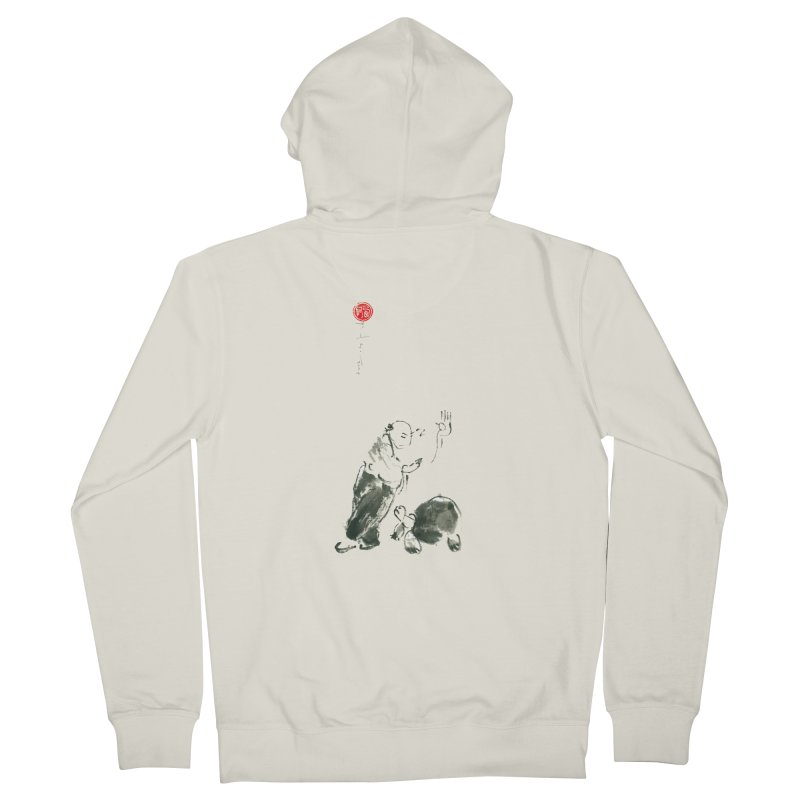 Pa Kua Guard Posture Men's Zip-Up Hoody by arttaichi's Artist Shop