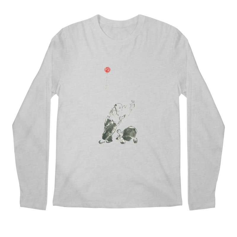 Pa Kua Guard Posture Men's Longsleeve T-Shirt by arttaichi's Artist Shop