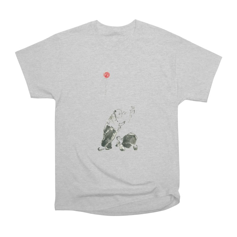 Pa Kua Guard Posture Women's Heavyweight Unisex T-Shirt by arttaichi's Artist Shop