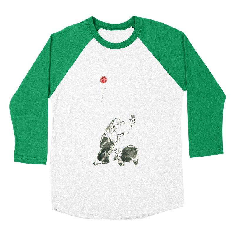 Pa Kua Guard Posture Men's Baseball Triblend Longsleeve T-Shirt by arttaichi's Artist Shop