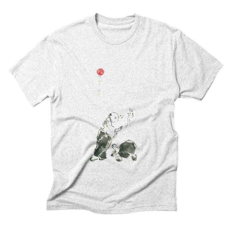 Pa Kua Guard Posture Men's Triblend T-shirt by arttaichi's Artist Shop