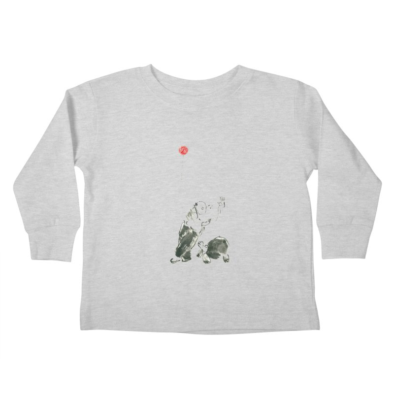 Pa Kua Guard Posture Kids Toddler Longsleeve T-Shirt by arttaichi's Artist Shop
