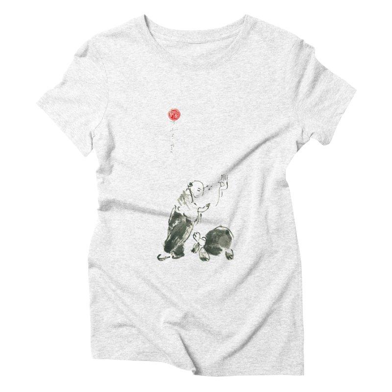 Pa Kua Guard Posture Women's Triblend T-shirt by arttaichi's Artist Shop