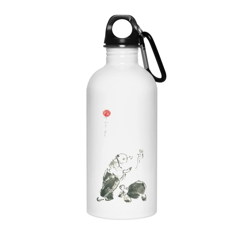 Pa Kua Guard Posture Accessories Water Bottle by arttaichi's Artist Shop