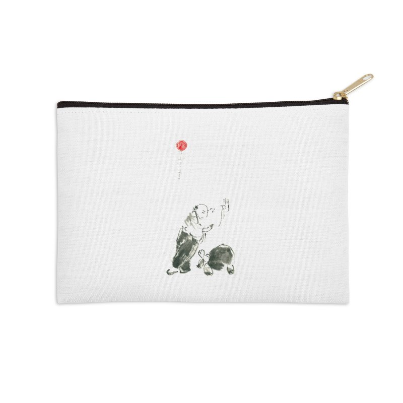 Pa Kua Guard Posture Accessories Zip Pouch by arttaichi's Artist Shop