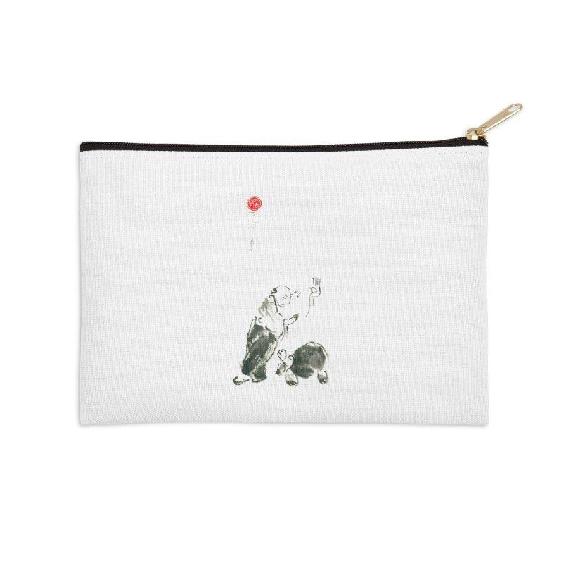 Pa Kua Guard Posture Accessories Zip Pouch by arttaichi's Artist Shop