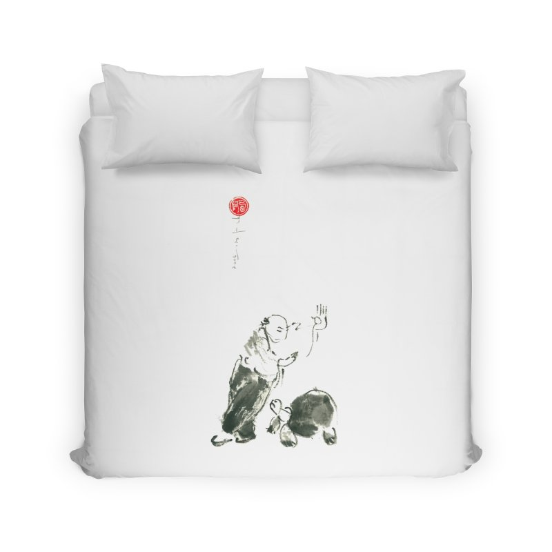 Pa Kua Guard Posture Home Duvet by arttaichi's Artist Shop