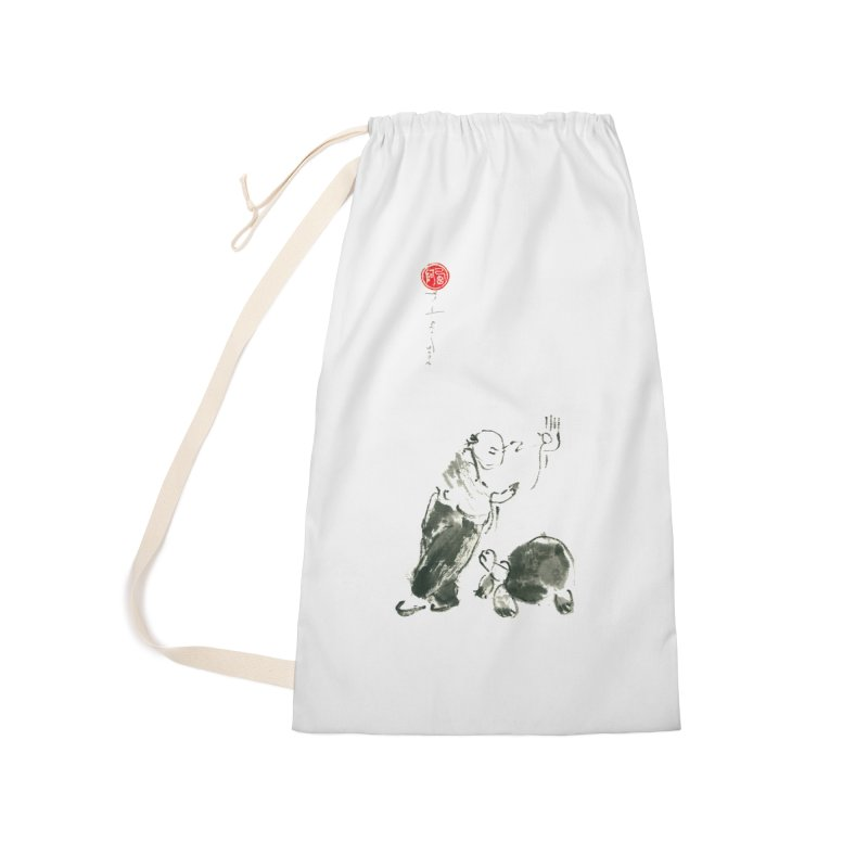 Pa Kua Guard Posture Accessories Laundry Bag Bag by arttaichi's Artist Shop