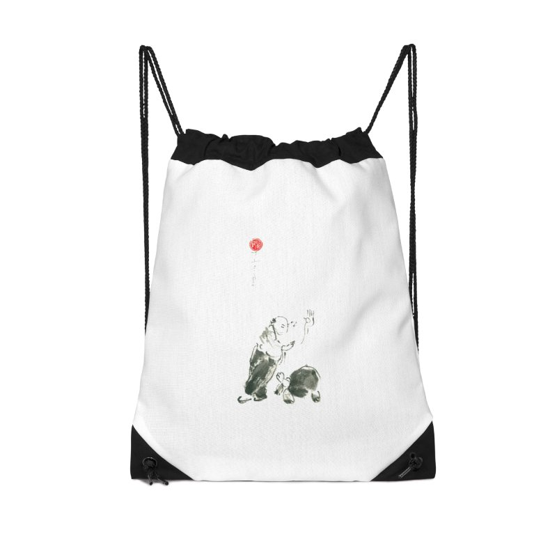 Pa Kua Guard Posture Accessories Drawstring Bag Bag by arttaichi's Artist Shop