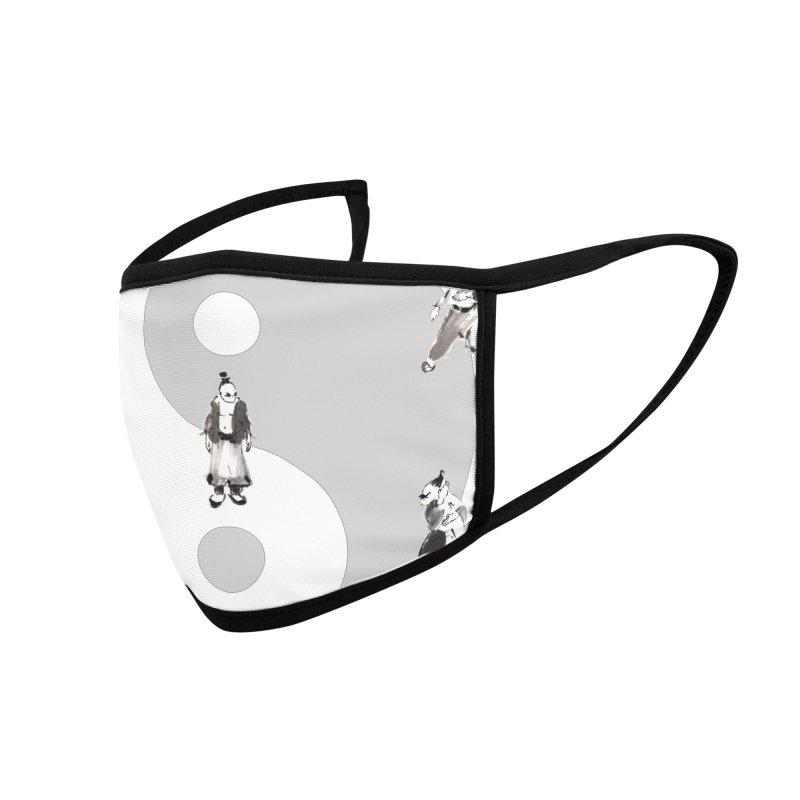 Yin Yang Tai Chi Art Image Accessories Face Mask by arttaichi's Artist Shop