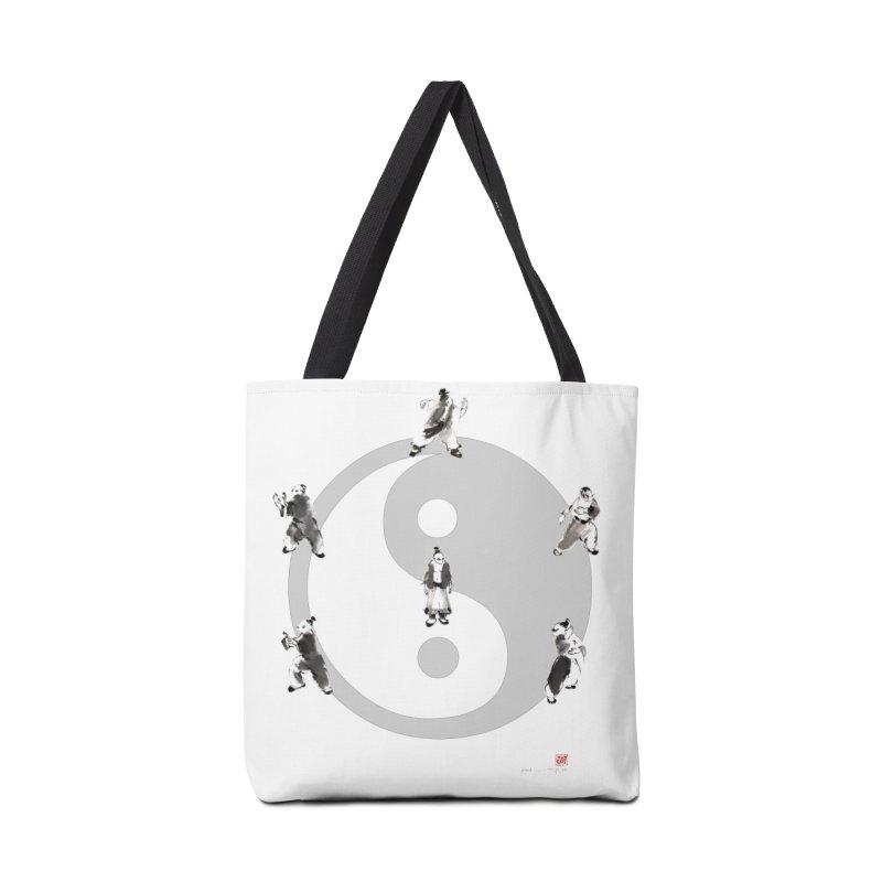 Yin Yang Tai Chi Art Image Accessories Bag by arttaichi's Artist Shop