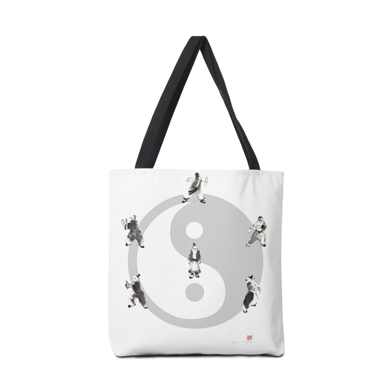Yin Yang Tai Chi Art Image Accessories Tote Bag Bag by arttaichi's Artist Shop