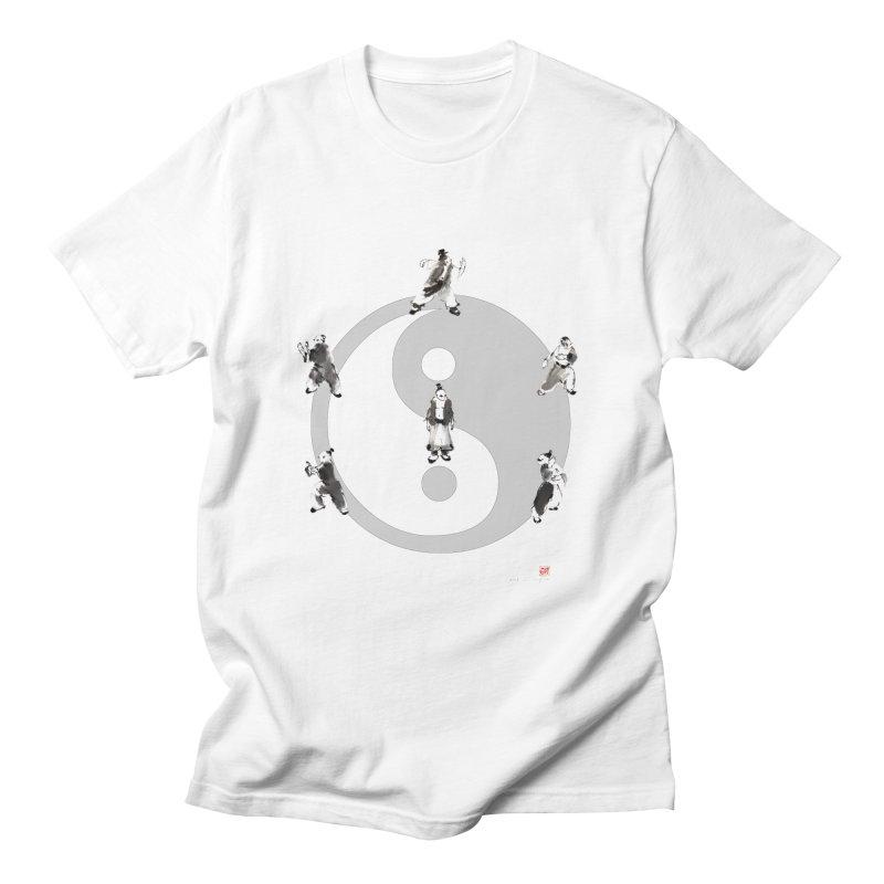 Yin Yang Tai Chi Art Image Men's T-Shirt by arttaichi's Artist Shop