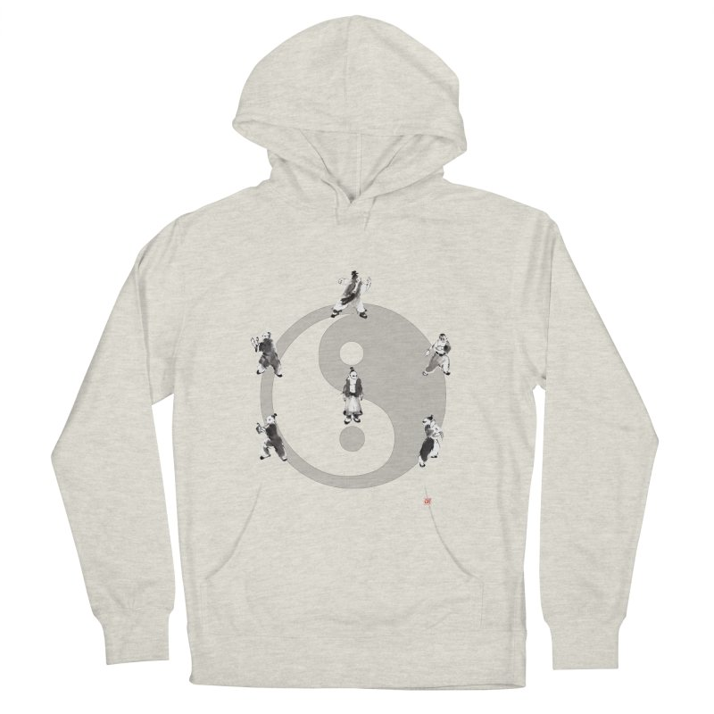 Yin Yang Tai Chi Art Image Men's French Terry Pullover Hoody by arttaichi's Artist Shop