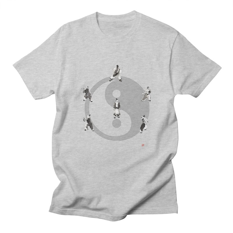 Yin Yang Tai Chi Art Image Women's Regular Unisex T-Shirt by arttaichi's Artist Shop