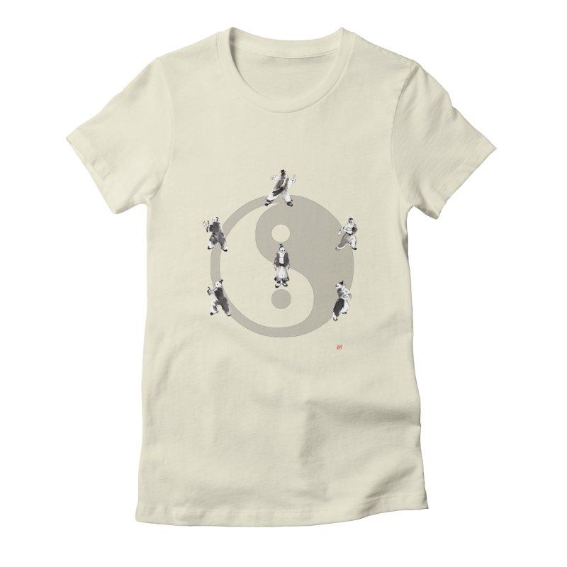 Yin Yang Tai Chi Art Image Women's T-Shirt by arttaichi's Artist Shop