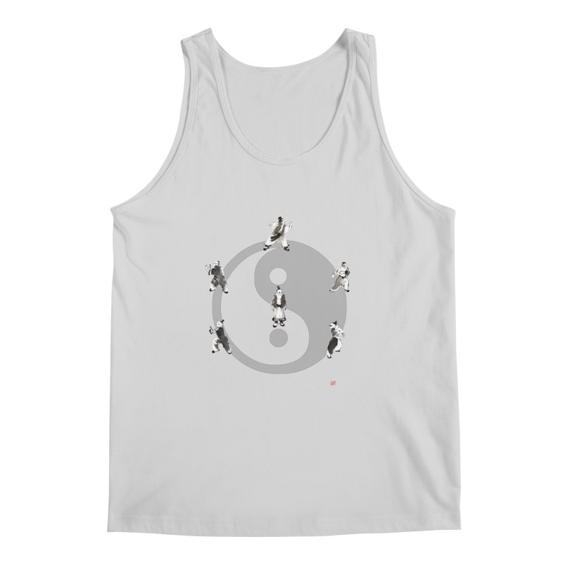 Yin Yang Tai Chi Art Image Men's Regular Tank by arttaichi's Artist Shop