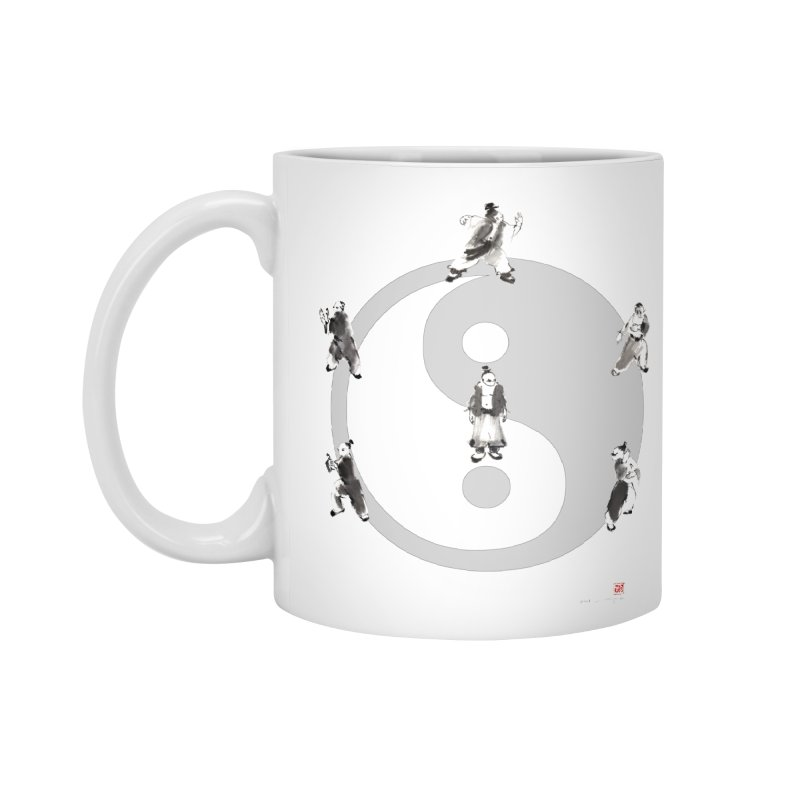 Yin Yang Tai Chi Art Image Accessories Mug by arttaichi's Artist Shop