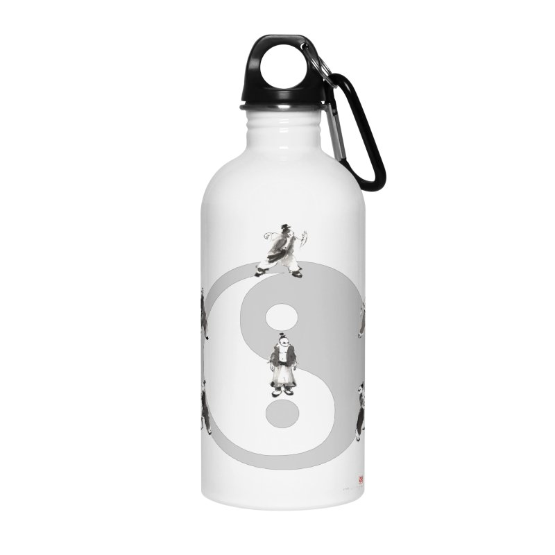 Yin Yang Tai Chi Art Image Accessories Water Bottle by arttaichi's Artist Shop